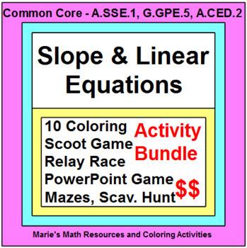 Slope - Activities BUNDLE