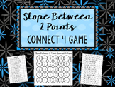Slope Between 2 Points Connect 4 Game