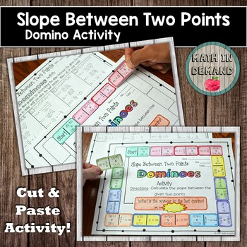 Slope Between Two Points Dominoes Activity