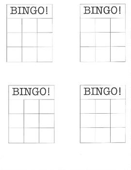 Slope Bingo Activity