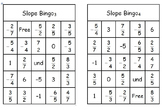 Slope Bingo Game (slope of line from two points)