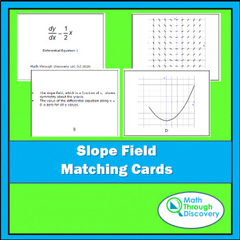 Calculus:  Slope Field Matching Cards
