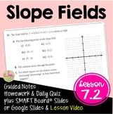 Slope Fields (Calculus - Unit 5)