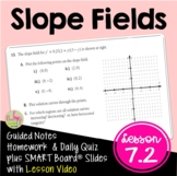 Calculus Slope Fields with Video Lesson (Unit 7)