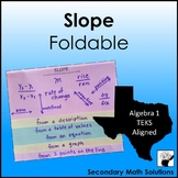 Slope Foldable (8.4C, A3A, A3B)