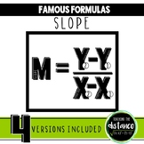 Slope Formula Banner