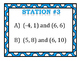 Slope Formula (Ordered Pairs) Stations