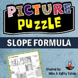 Slope Formula Picture Puzzle