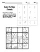 Slope Formula Puzzle Activity