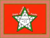 Slope Formula Star Puzzle