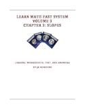 Slope Formula, Y-intercept, Graphs, Linear Equations, Coordinates