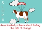 Slope - Funny Animated Rate of Change Real World Problem