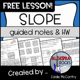 Slope (Guided Notes and Assessment)