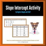 Slope Intercept Activity