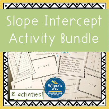 Slope Intercept Activity Bundle
