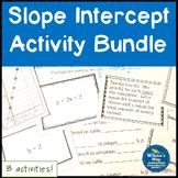 Slope Intercept Form Activity Bundle