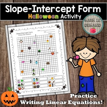Slope Intercept Form Worksheet By Math In Demand Tpt