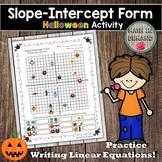 Slope-Intercept Form Worksheet