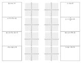 Slope-Intercept Form 8 Flap Shutter Foldable