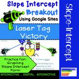 Slope Intercept Form Digital Breakout: Laser Tag Victory