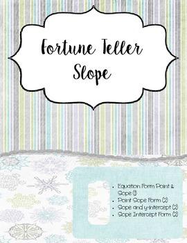 Slope Fortune Teller Set