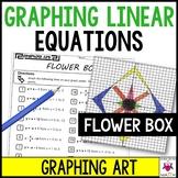 Slope-Intercept Form Graphing Art Flower Box
