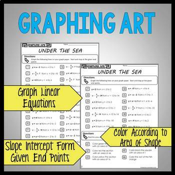 Slope-Intercept Form Graphing: Graphing Art Under the Sea