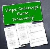 Slope-Intercept Form:  Introductory Discovery Activity