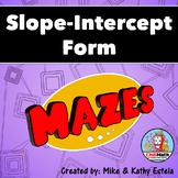 Slope-Intercept Form Mazes