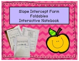 Slope Intercept Form Notes Interactive Notebook