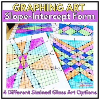Graphing Art: Slope-Intercept Form Practice