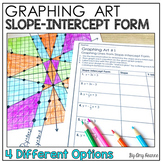 Graphing Equations in Slope Intercept Form: Graphing Art Project
