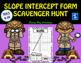 Slope Intercept Form Scavenger Hunt