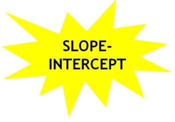 Slope-Intercept Form Song (Algebra)