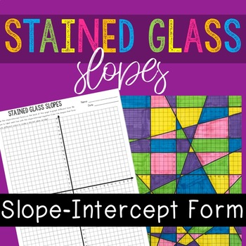 Slope-Intercept Form Stained Glass