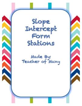 Slope Intercept Form Stations