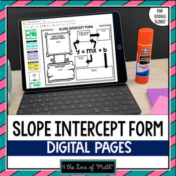 Slope Intercept Form for Google Slides™