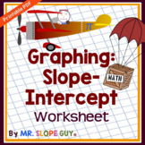 Slope Intercept Form Graphing Worksheet