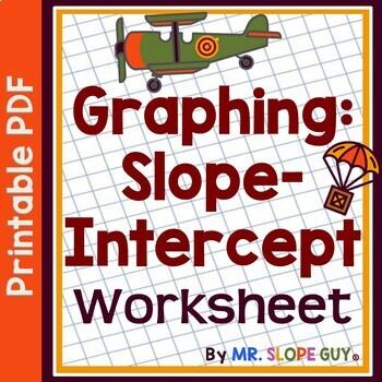 Slope Intercept Form Graphing Worksheet