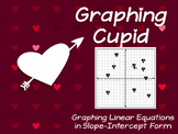 Slope-Intercept Graphing - Graphic Cupid Valentine's Day W