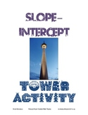 Slope Intercept Investigation Fun Activity Experiment Alge