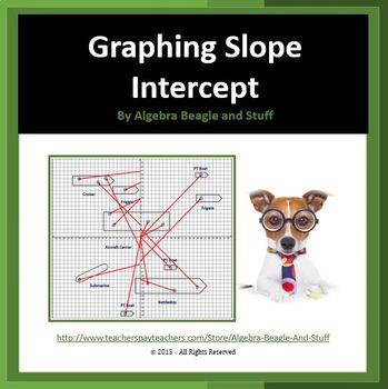 Graphing Slope Intercept Battleship Activity