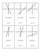 Slope-Intercept Linear Matching Cards