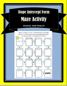 Slope Intercept Maze