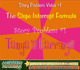 Slope Intercept - Story Problem Video 1