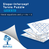 Slope-Intercept Tarsia Puzzle