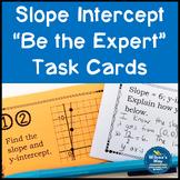 Slope Intercept Task Card Activity