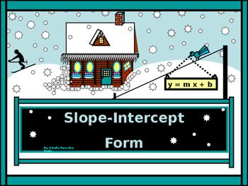 Power-Point:  Slope-Intercept form