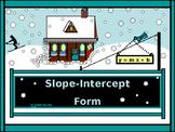 Algebra Power-Point:  Slope-Intercept form/DISTANCE LEARNI
