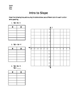 Slope Introduction
